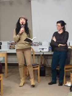 Lectures par Maram Al-Masri et Nathalie Jaulain (Le Texte Libre)