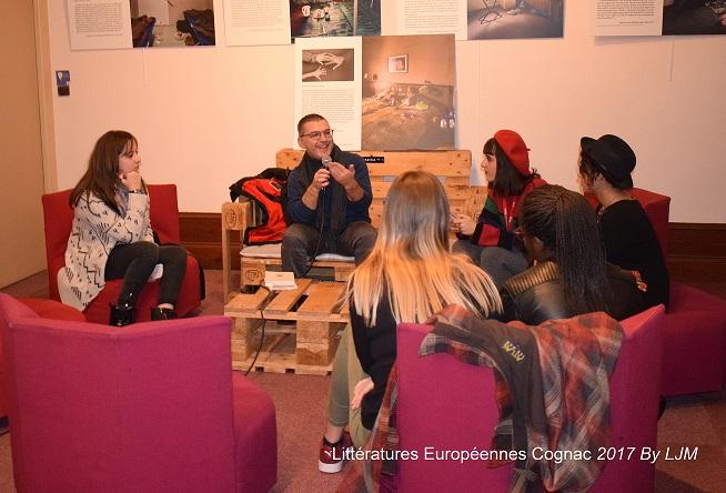 Alessandro de Roma et les lycéens
